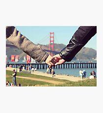 Love in San Francisco Photographic Print