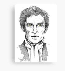 Portrait of Jeremy Brett  Canvas Print