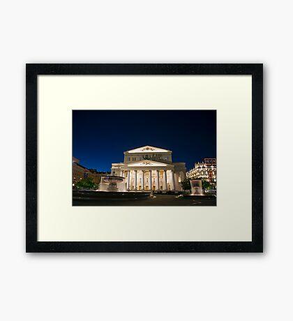 Bolshoi Theatre Framed Print