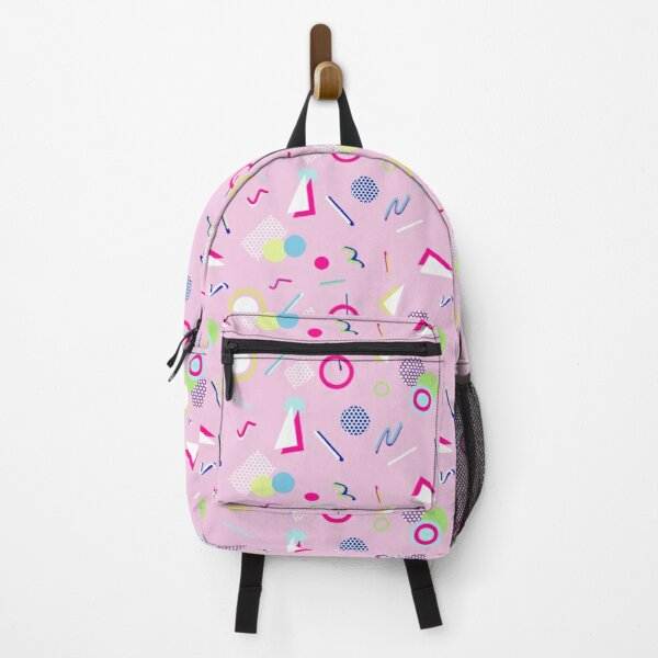 Clarissa - 80s pink print Backpack