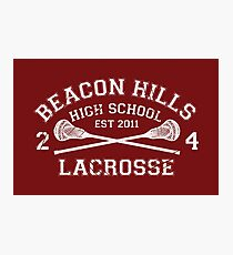 Beacon Hills Lacrosse Photographic Print
