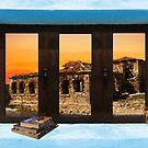 Window Into Greece 5 by Eric Kempson