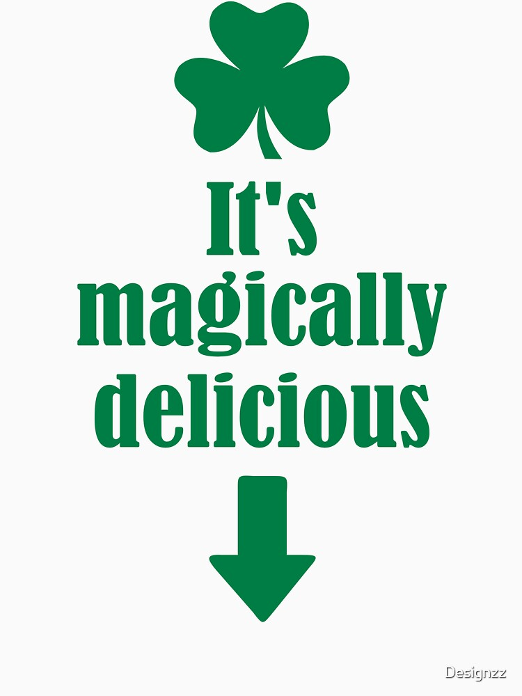 It's magically delicious shamrock by Designzz