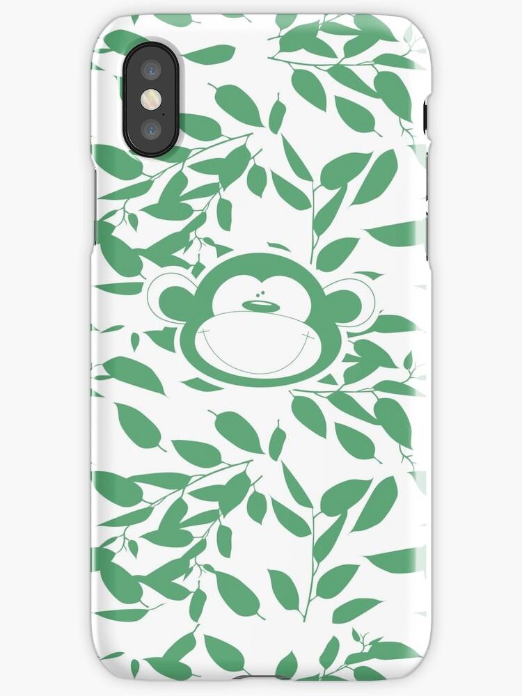 Camo monkey phone case by moma-loves-bob