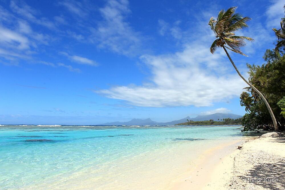 Remote Island Paradise - French Polynesia by Honor Kyne
