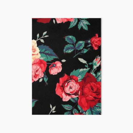 Red Rose Wallpapers Wall Art Redbubble