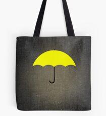 You are my Yellow Umbrella Tote Bag