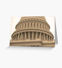 United States Capitol Building Greeting Card