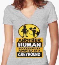 Camiseta entallada de cuello en V Otro humano