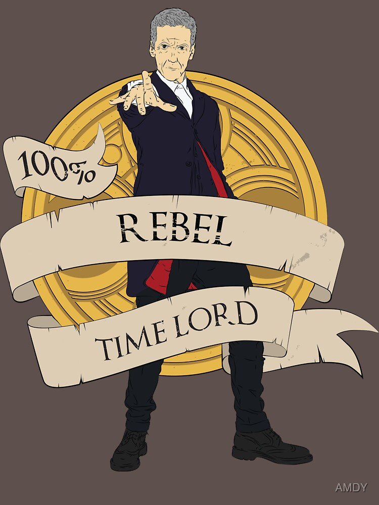 Rebel Time Lord by AMDY
