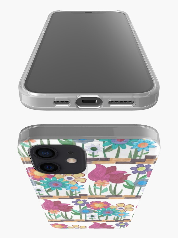 Alternate view of Floral Collage iPhone Case & Cover