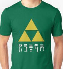 Zelda Trifoce - Hylian Language  T-Shirt