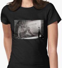 Cyberpunk Photo 009 t-shirt Women's Fitted T-Shirt