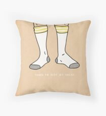 It's Business Time. Throw Pillow