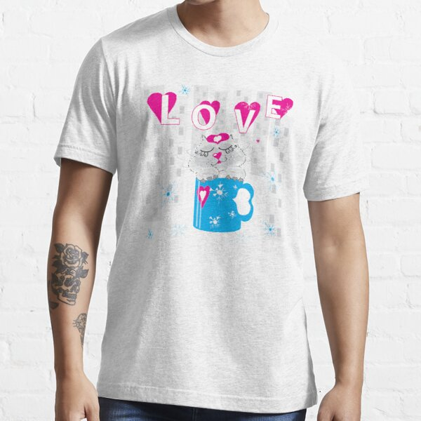 Kitty in a cup Essential T-Shirt
