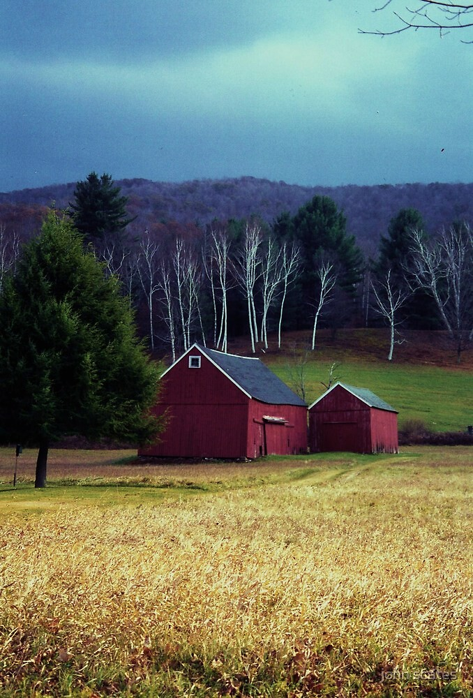 Vermont barn by john scates