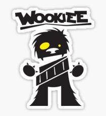 Wookie Sticker