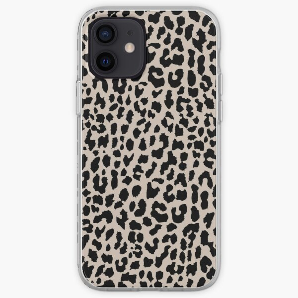 Tan Leopard iPhone Soft Case