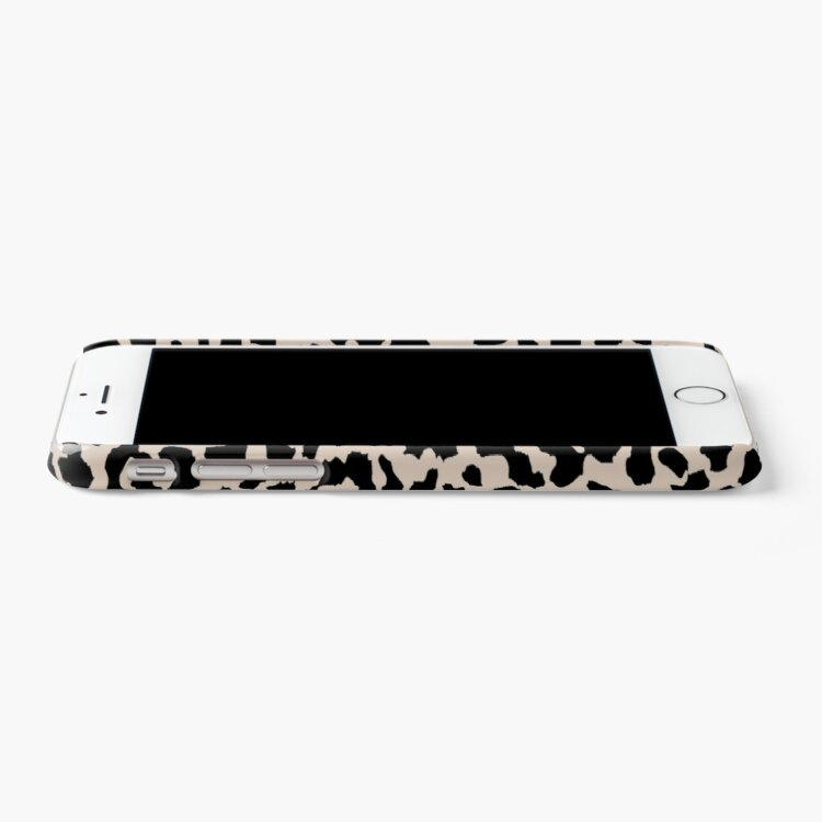 Alternate view of Tan Leopard iPhone Case & Cover
