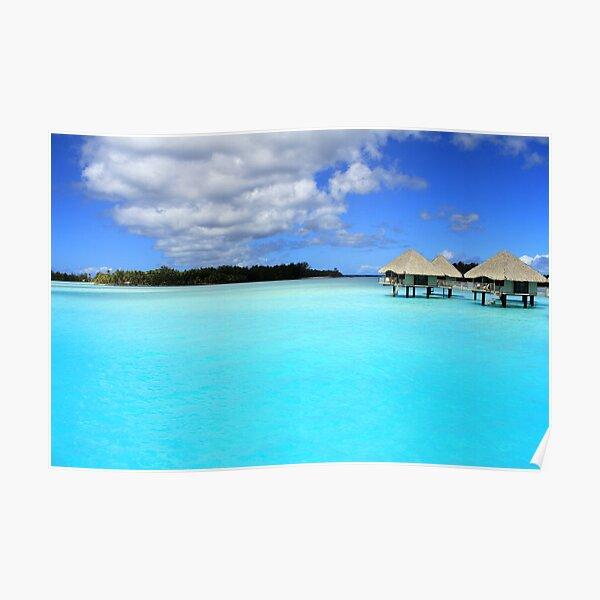 Blue Blue - Bora Bora  Poster