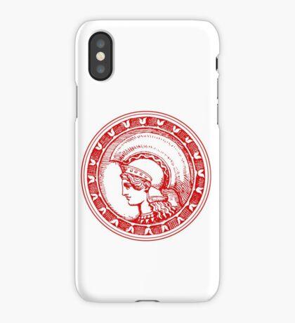 Athena/Minerva - red iPhone Case