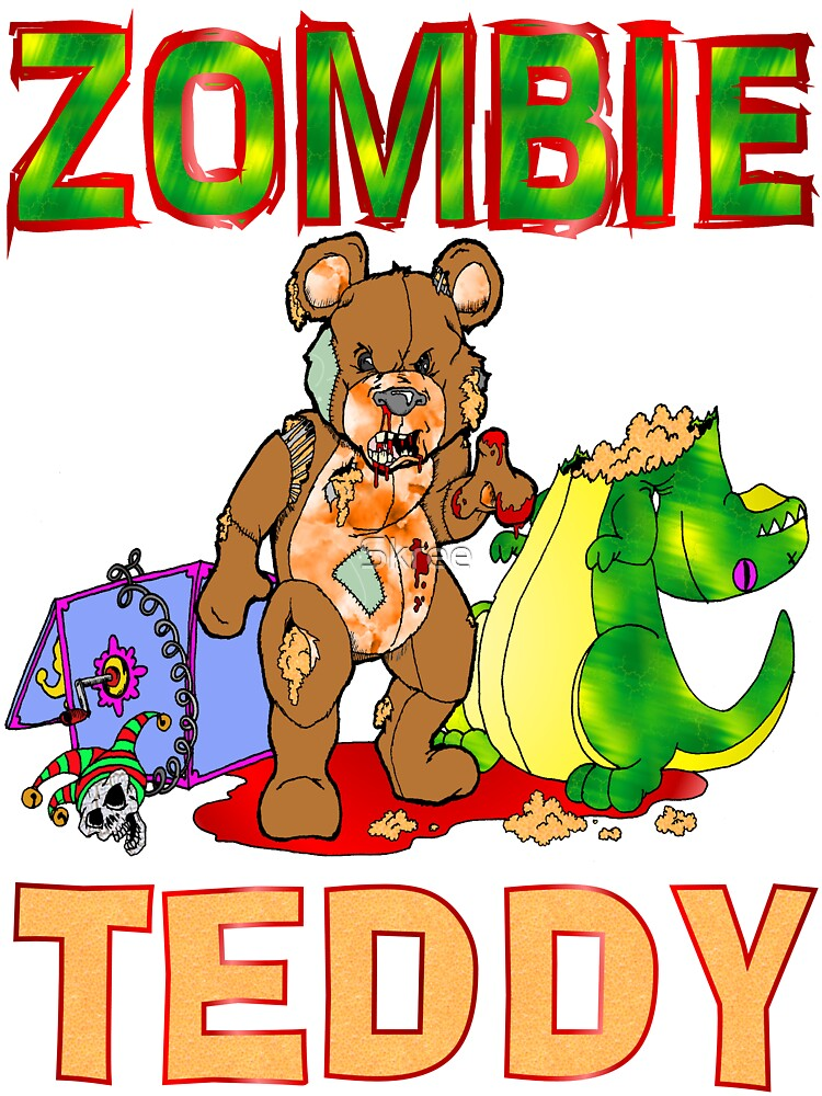 Zombie Teddy by Skree