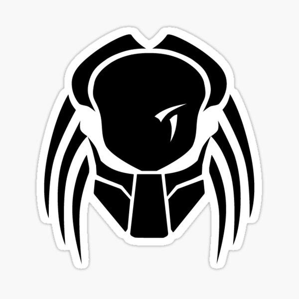 Logo Predator du célèbre film Sticker