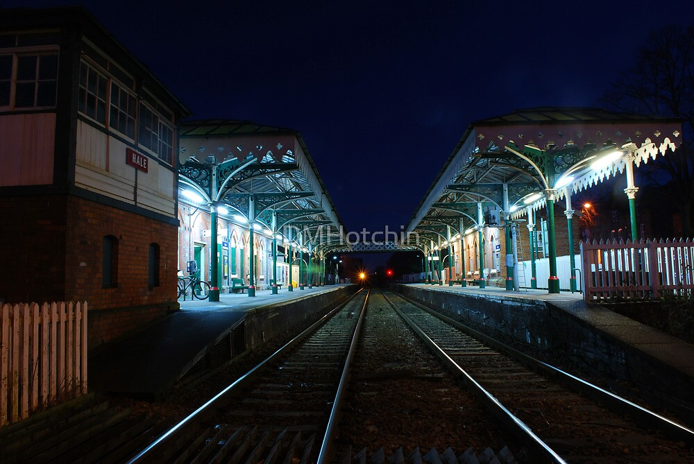 Looking down the tracks at Hale by DMHotchin
