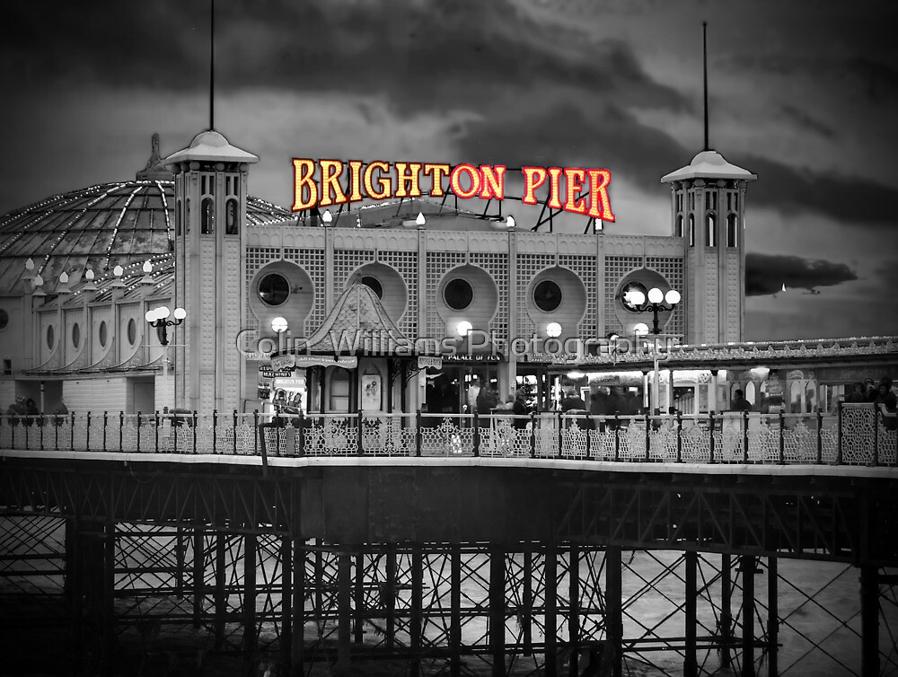 Brighton Pier - HDR- SC by Colin  Williams Photography