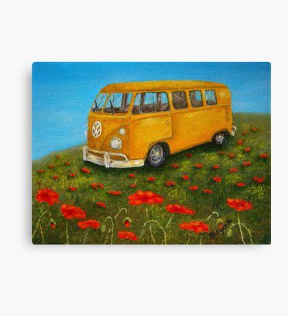 Vintage VW Bus Canvas Print