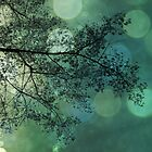 Tree Magic in Teal by Leah Gunther