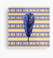 Endearment Feather Metal Print