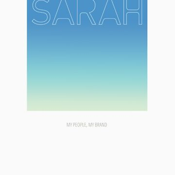 Sarah by MyPeopleMyBrand