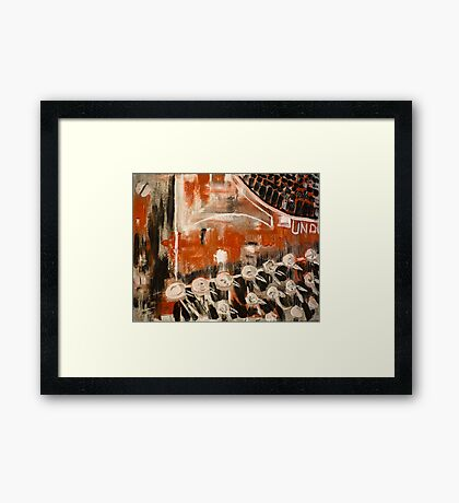 Well-used Framed Print