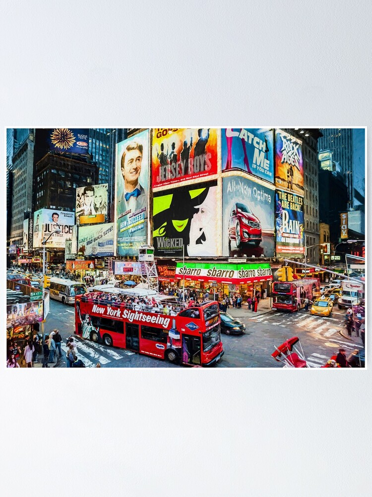 Alternate view of Times Square II (digitally remastered) Poster
