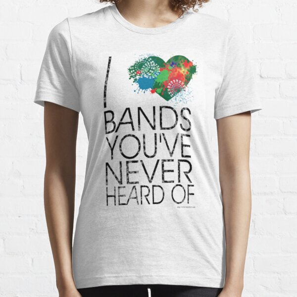 I Love Obscure Bands Essential T-Shirt