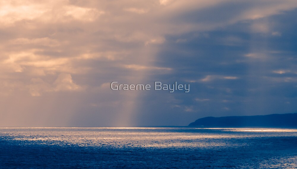 Strange Sunset Forebobing by Graeme Bayley