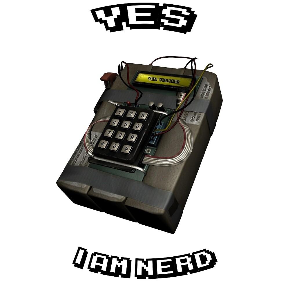 Yes, I Am Nerd  by Follen