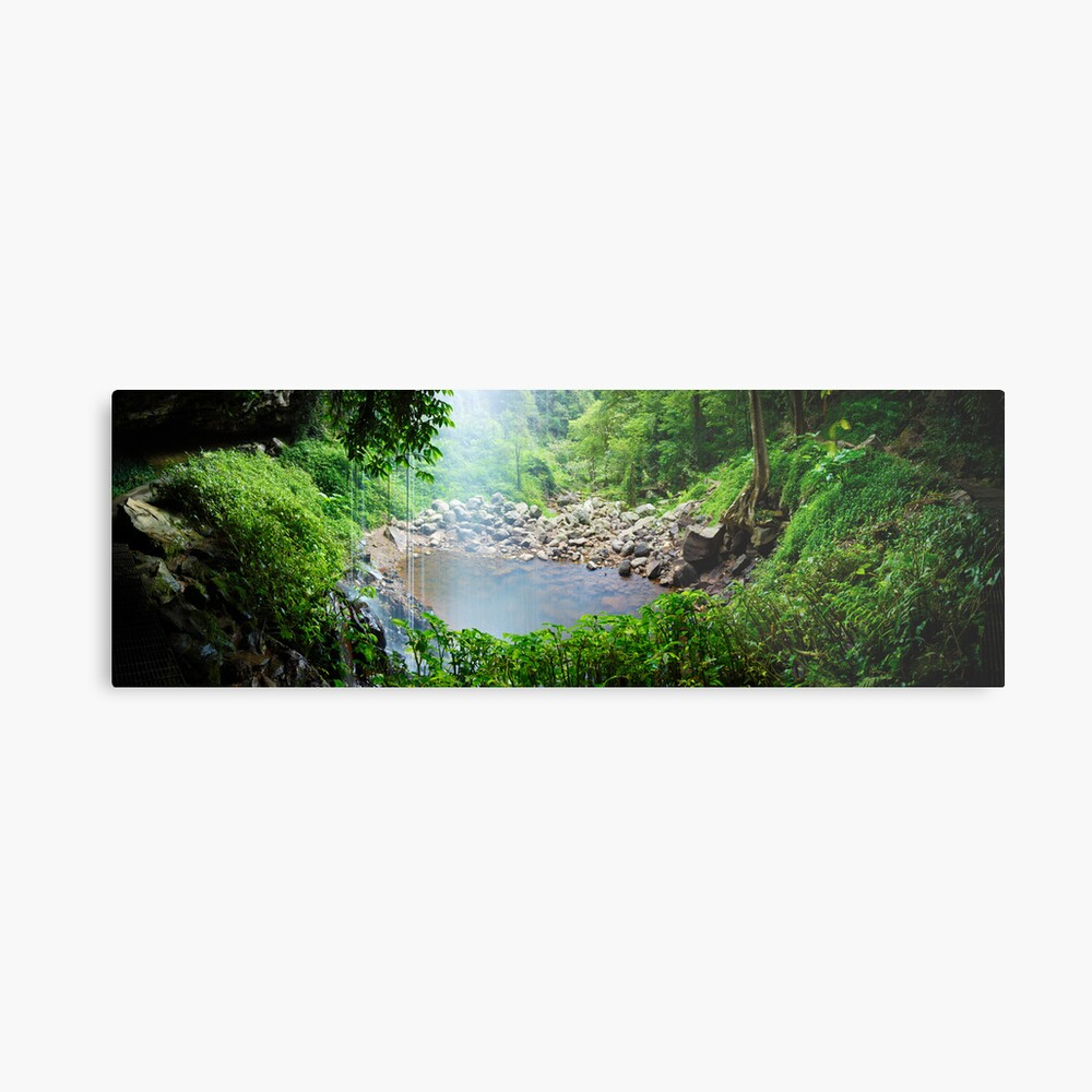 Crystal Shower Falls, Dorrigo National Park, New South Wales, Australia Metal Print