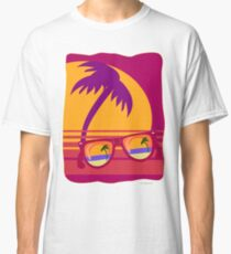 Sunglasses at Sunset Classic T-Shirt