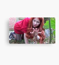 Amy Pond (Flesh and Stone/Time of Angels Cosplay) Canvas Print