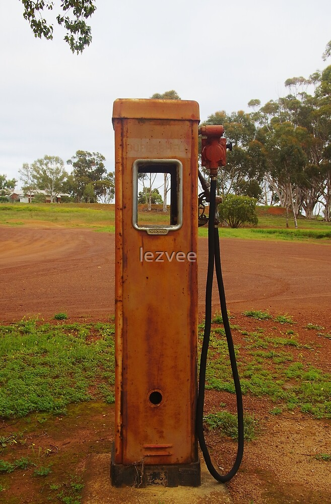 A Petrol Pump without a Filling Station by lezvee