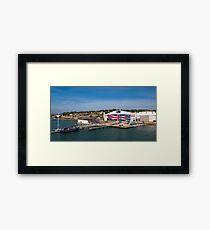 Venture Quays IOW Framed Print