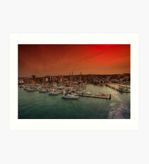 Shepards Wharf IOW Art Print