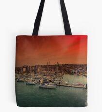 Shepards Wharf IOW Tote Bag