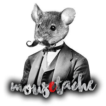 mousetache by katramerstudio