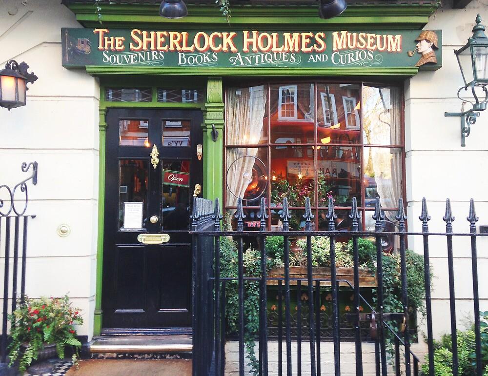 sherlock holmes museum by Catherine Ostholthoff
