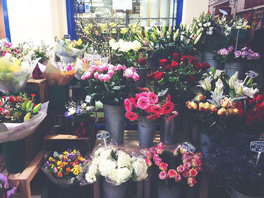 oxford flowers by Catherine Ostholthoff