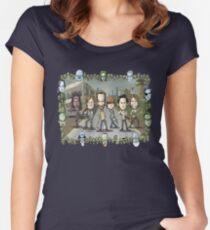 The Walking Dead by Kenny Durkin Women's Fitted Scoop T-Shirt