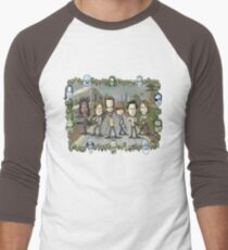 The Walking Dead by Kenny Durkin Men's Baseball ¾ T-Shirt